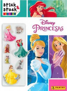 STICK & STACK DISNEY PRINCESAS -AA.VV-9788427870321