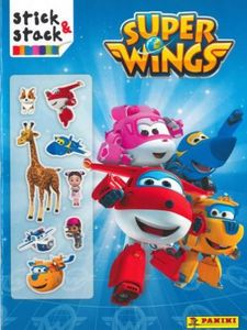 SUPER WINGS. STICK&STACK-AA.VV.-9788427870338