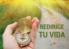 CALENDARIO PARED REDIRIGE TU VIDA - 2019-SAN PABLO-9788428555555