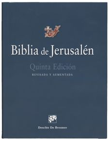 BIBLIA DE JERUSALÉN - CARTONÉ - MOD. 1 - MANUAL-DESCLEÉ DE BROUWER-9788433030474