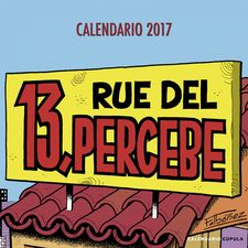 CALENDARIO 13 RUE DEL PERCEBE 2017-IBÁÑEZ, FRANCISCO-9788448022563