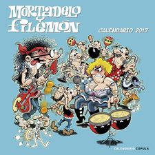 CALENDARIO MORTADELO Y FILEMÓN 2017 -IBÁÑEZ, FRANCISCO-9788448022570