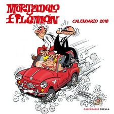 CALENDARIO MORTADELO Y FILEMÓN 2018-IBÁÑEZ, FRANCISCO-9788448023423