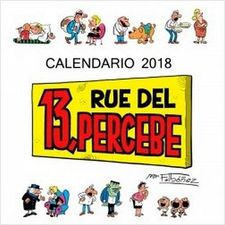 CALENDARIO 13 RUE DEL PERCEBE 2018 -IBÁÑEZ, FRANCISCO-9788448023430