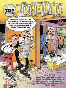 TOP CÓMIC MORTADELO Nº56-IBÁÑEZ TALAVERA, FRANCISCO-9788466656702
