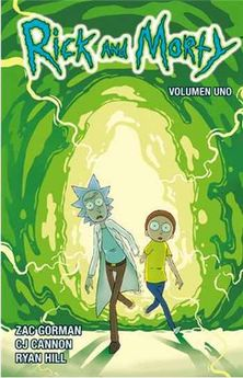 RICK Y MORTY 01-GORMAN, CANNON, HILL-9788467924091