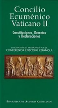 CONCILIO ECUMENICO VATICANO II -BAC MINOR-CONFERENCIA EPISCOPAL ESP-9788479140816
