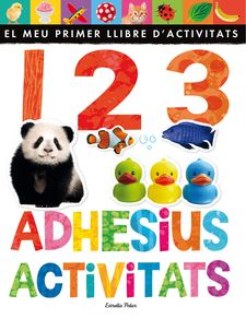 1 2 3.ADHESIUS I ACTIVITATS -LITTLE TIGER PRESS-9788490576496