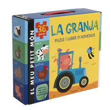 LA GRANJA. PUZLE I ADHESIUS -LITTLE TIGER PRESS-9788490576519
