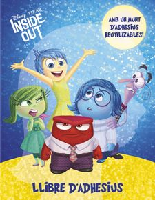 INSIDE OUT. LLIBRE D''ADHESIUS -DISNEY-9788490578728