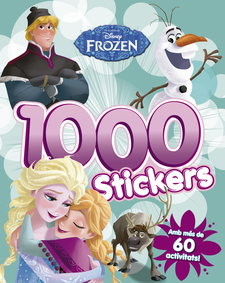 FROZEN. 1.000 STICKERS -DISNEY-9788490579442