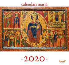 CALENDARI MARIÀ 2020 DE PARET-EDITORIAL CLARET-9788491362272