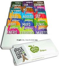 AN APPLE A DAY BOX COLECCION MANGLANOS-MANGLANO CASTELLARY, JOSÉ PEDRO-9788494211102