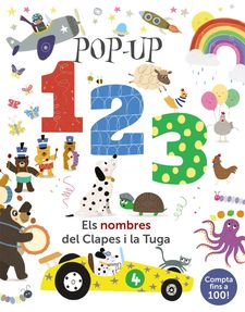 POP-UP 123. ELS NOMBRES DEL CLAPES I LA TUGA-HEGARTY, PATRICIA-9788499063089