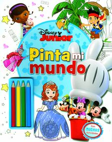 DISNEY JUNIOR. PINTA MI MUNDO -DISNEY-978-84-9951-608-0