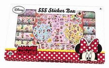 555 STICKER BOX SET DE PEGATINAS DE MINNIE MOUSE-AAVV-9788595593800