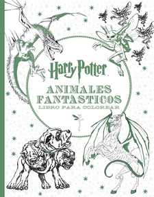 HARRY POTTER-ANIMALES FANTÁSTICOS LIBRO PARA COLOREAR-HARRY POTTER-9788893670685