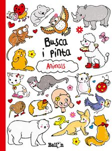 BUSCA I PINTA- ANIMALS -ballon-9789037493689