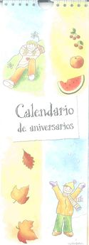 CALENDARIO DE ANIVERSARIOS-EDITORIAL CLARET-9990051120011